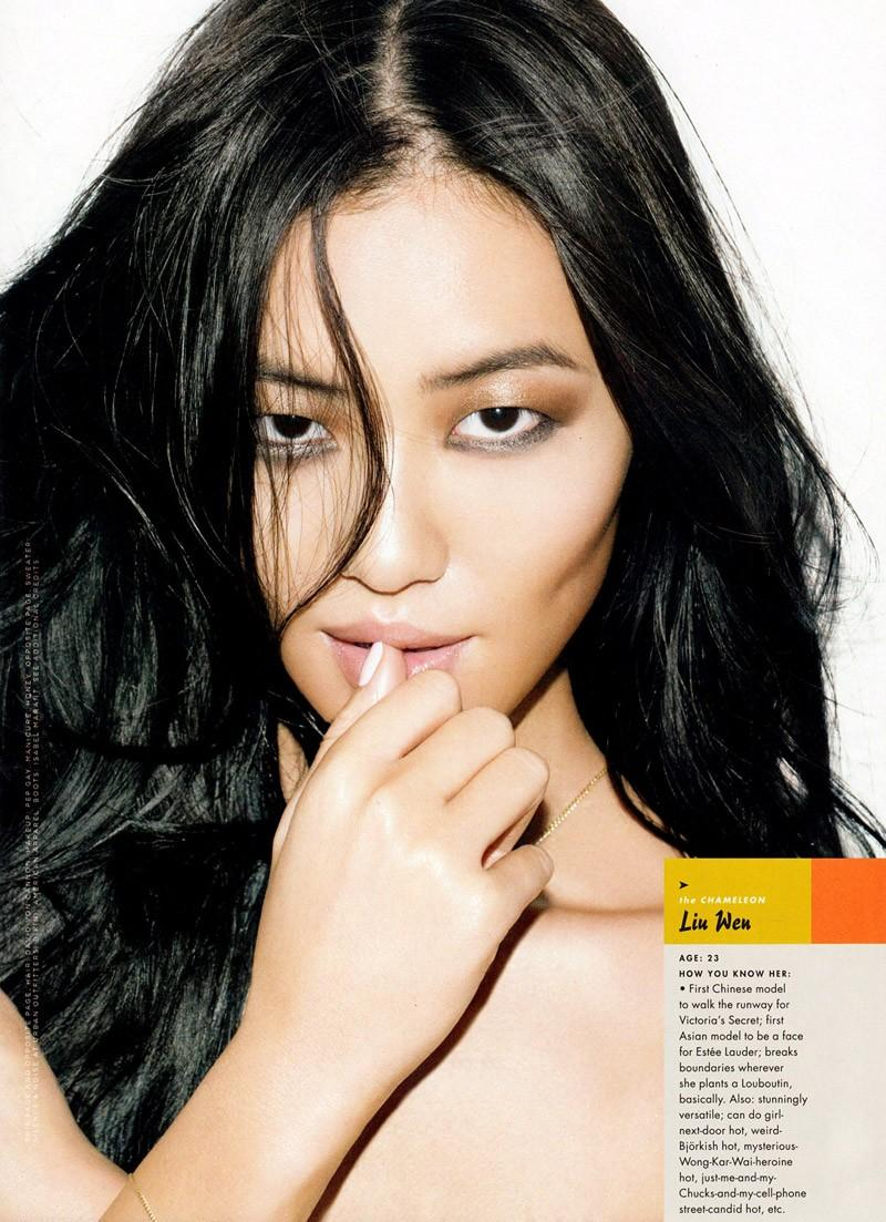 Liu Wen - GQ Lust List