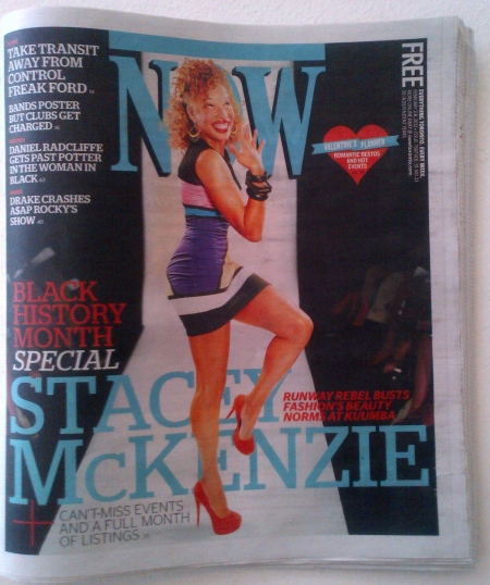 Stacey McKenzie - Now Magazine (1)
