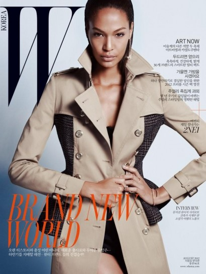 Joan Smalls WKorea