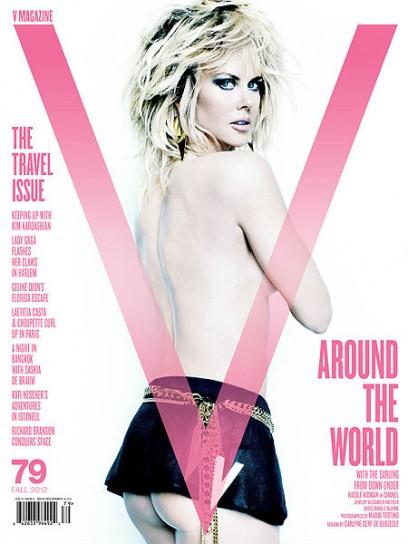 Nicole Kidman V Magazine